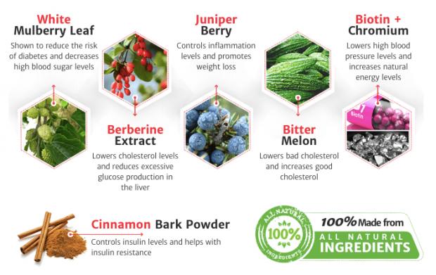 Blood Balance Formula Ingredients