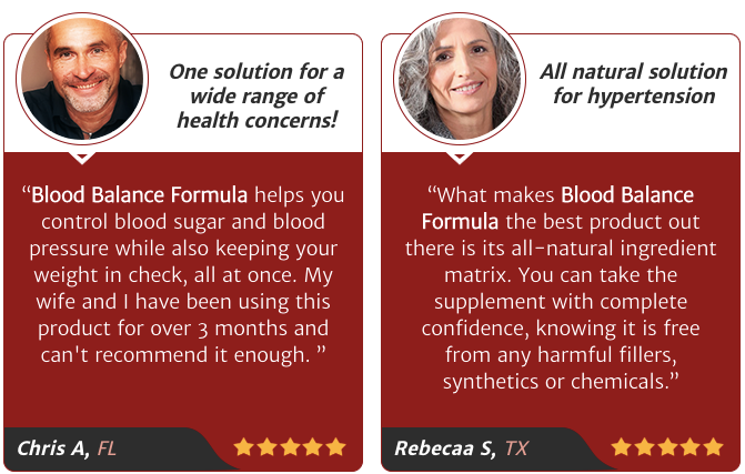 Blood Balance Formula Reviews