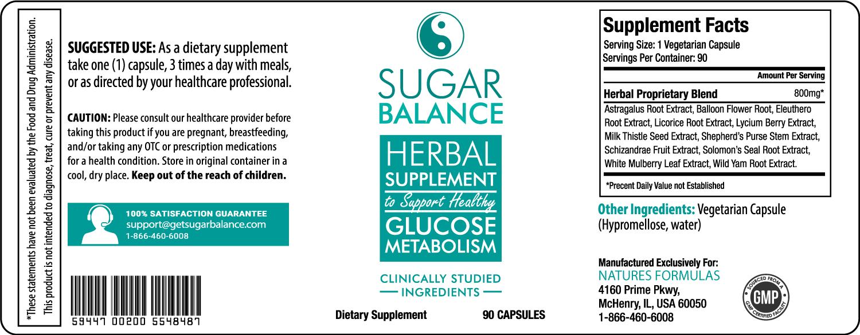 Sugar Balance Supplement Review