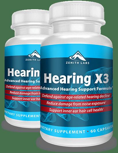 Hearing X3 Pills Review