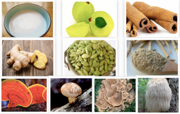 Golden Superfood Bliss Ingredients