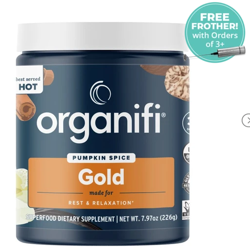 Organifi Pumpkin Spice Gold Review: The Best & Proven Energy Boosting Support