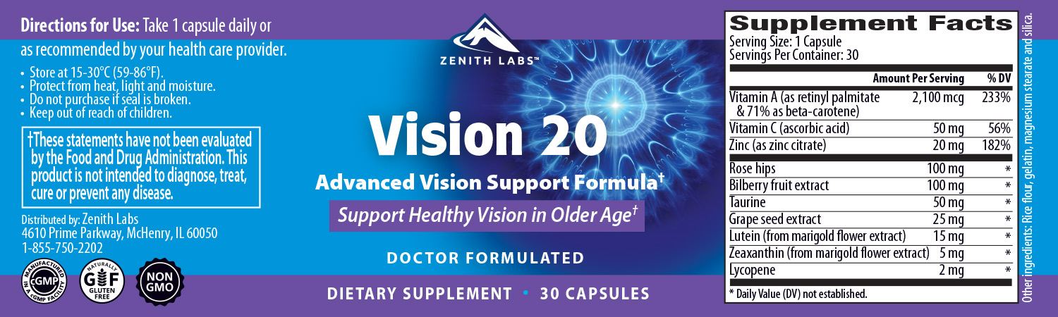Vision 20 Supplement review