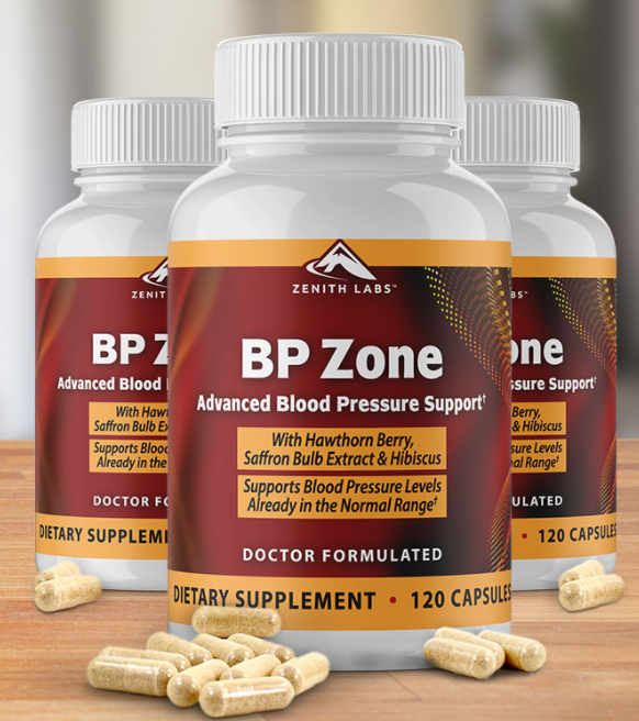 BP Zone Supplements: Lower Your Blood Pressure Naturally