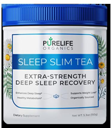 Pure Life Organics Sleep Slim Tea Powder - The Best Weight Loss Powder