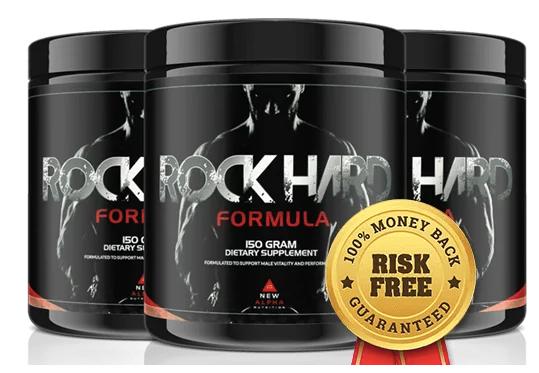 Rock Hard Formula Testosterone Booster Superfood - The Best Man Tea Formula