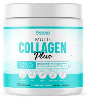 PainLess Nutritionals Multi Collagen Plus Powder - Pros & Cons