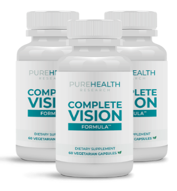 Complete Vision Formula Supplement Reviews