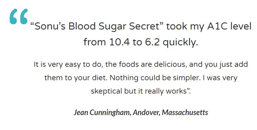 Sonu's Diabetes Secret Diet Plan