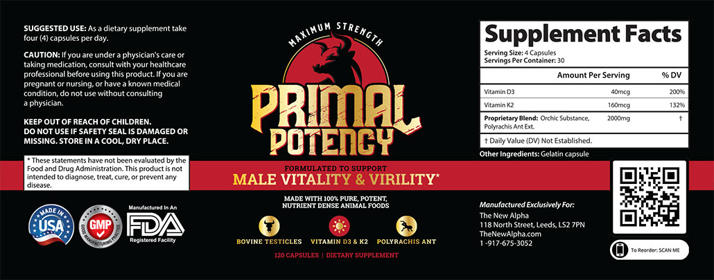 Primal Potency Capsules