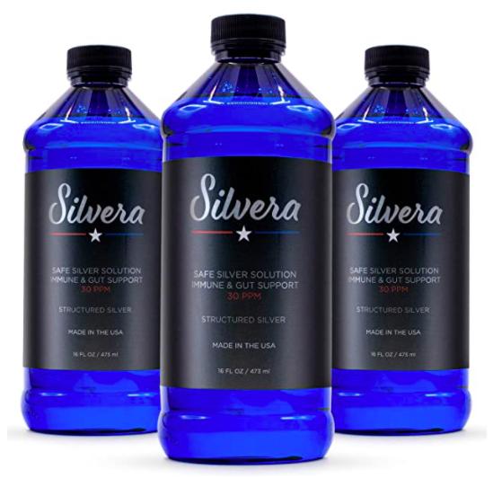 Silvera Structured Silver Supplement